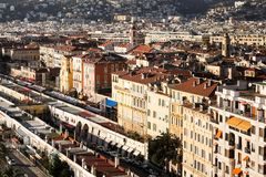 City of Nice Royalty Free Stock Photos