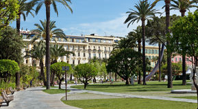 City of Nice - Albert I Gardens Stock Photography