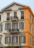 City of Nice - Architecture along Promenade des Anglais Royalty Free Stock Photo