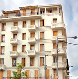 City of Nice - Architecture of buildings Royalty Free Stock Images