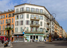 City of Nice - Architecture of buildings Stock Photo