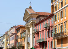 City of Nice - Architecture of buildings Royalty Free Stock Image