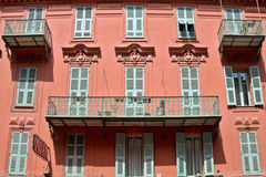 City of Nice - Architecture of buildings Stock Photography