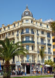 City of Nice - Architecture of buildings Royalty Free Stock Photo