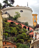 City of Nice - Architecture of Castle Hill Royalty Free Stock Photography