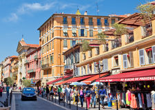 City of Nice - Architecture of city Stock Image