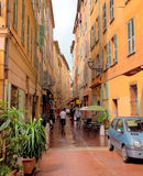 City of Nice - Architecture of old town Stock Photo