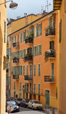 City of Nice - Architecture of old town Royalty Free Stock Photo