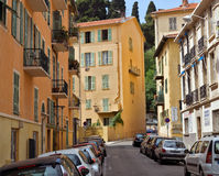 City of Nice - Architecture of old town Royalty Free Stock Image