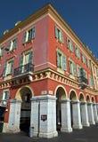 City of Nice - Architecture of Place Massena Stock Image