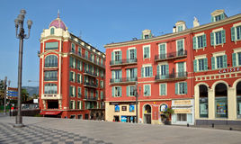 City of Nice - Architecture of Place Massena Stock Image