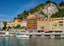 City of Nice - Architecture in the Port de Nice Royalty Free Stock Photo