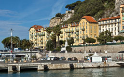 City of Nice - Architecture in the Port de Nice Royalty Free Stock Photos