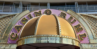 City of Nice - Casino of Hotel Le Meridien Royalty Free Stock Image