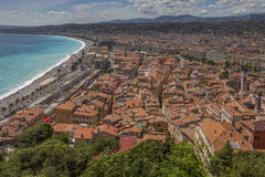 City of Nice - Cote d'Azur - French Riviera Royalty Free Stock Image