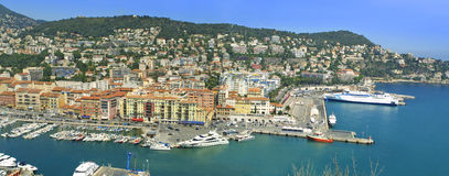 City of Nice, Cote d'Azure, France Stock Photos