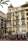 City of Nice, France - Architecture along Promenade des Anglais Royalty Free Stock Photos
