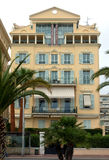 City of Nice, France - Architecture along Promenade des Anglais Stock Images
