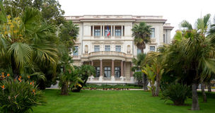 City of Nice, France - Museum Massena Stock Photos