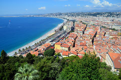 City of nice in france view landscape bay Royalty Free Stock Photography
