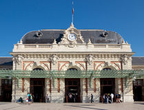 City of Nice - Gare de Nice - Ville is main railway station Royalty Free Stock Image