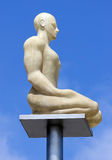 City of Nice - Glowing statue on Place Massena Royalty Free Stock Photo