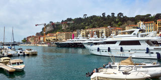 City of Nice - Harbour and port Stock Photography