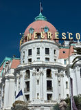 City of Nice - Hotel Negresco Royalty Free Stock Image
