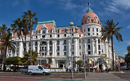 City of Nice - Hotel Negresco Royalty Free Stock Photo