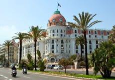 City of Nice - Hotel Negresco Stock Photography