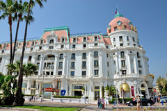 City of Nice - Hotel Negresco Royalty Free Stock Images