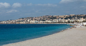 City of Nice - Luxury resort of French riviera Stock Images