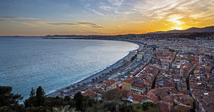 City of Nice Royalty Free Stock Photography