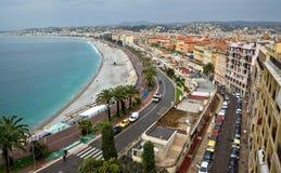 City of Nice - Panoramic view Stock Image