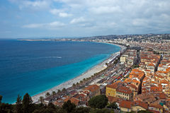 City of Nice - Panoramic view Stock Image