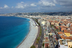 City of Nice - Panoramic view Stock Photo