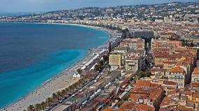 City of Nice - Panoramic view Royalty Free Stock Photos