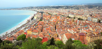 City of Nice - Panoramic view Royalty Free Stock Photography