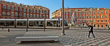 City of Nice - Place Massena Stock Image