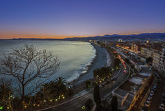 City of Nice Royalty Free Stock Photos