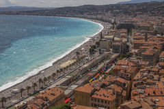 City of Nice - South of France Royalty Free Stock Image