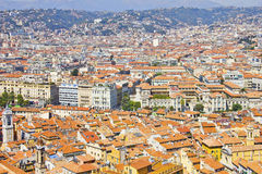 The city of Nice, south of France Royalty Free Stock Photo