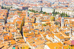 The city of Nice, south of France Stock Photos