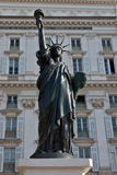 City of Nice - Statue of Liberty Royalty Free Stock Photography
