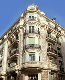 City of Nice - Streets and architecture of buildings Stock Photography