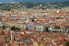City of Nice - View of the city from above Royalty Free Stock Image