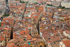 City of Nice - View of the city from above Stock Photography