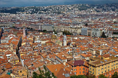 City of Nice - View of the city from above Stock Image