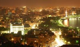 City at night. Baku city at night Stock Photo