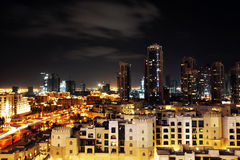 City at night Royalty Free Stock Photography